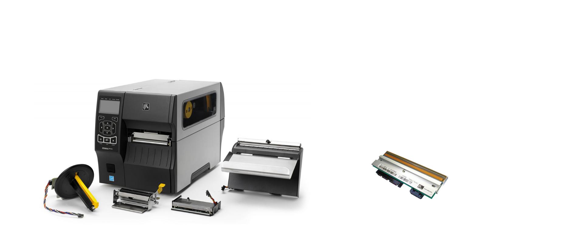 Etikettendrucker Zubehör: cab cutter modul, schneidemesser, spendemodul, peel-off, peeler, RFID Modul